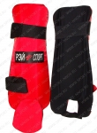 Щитки для рукопашного боя Ray Sport (с защитой стопы)